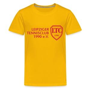 LOGO Kids gelb - Teenager Premium T-Shirt