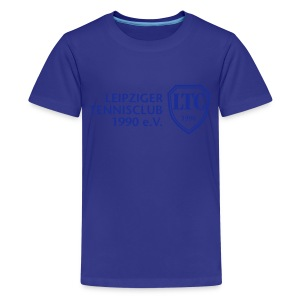 LOGO Kids blau - Teenager Premium T-Shirt