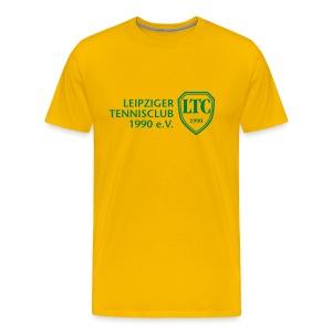 LOGO Shirt Brasil gelb - Männer Premium T-Shirt