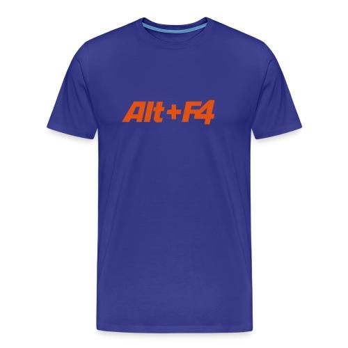 Alt+F4 - Shirt - Männer Premium T-Shirt