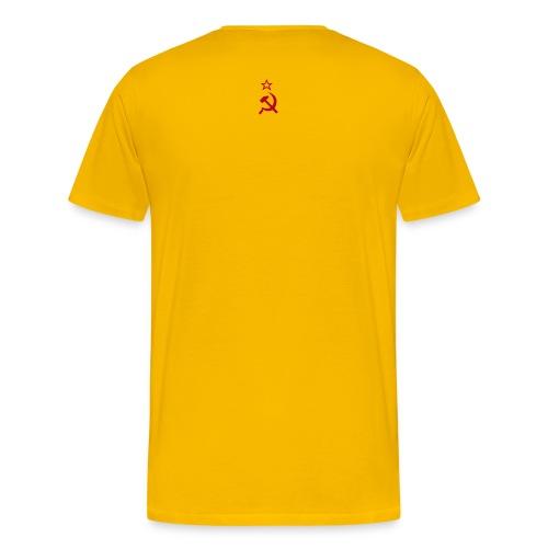 Sowjet-Auswärts - Männer Premium T-Shirt