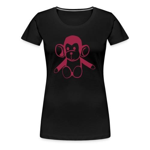 Monkey Black - Frauen Premium T-Shirt