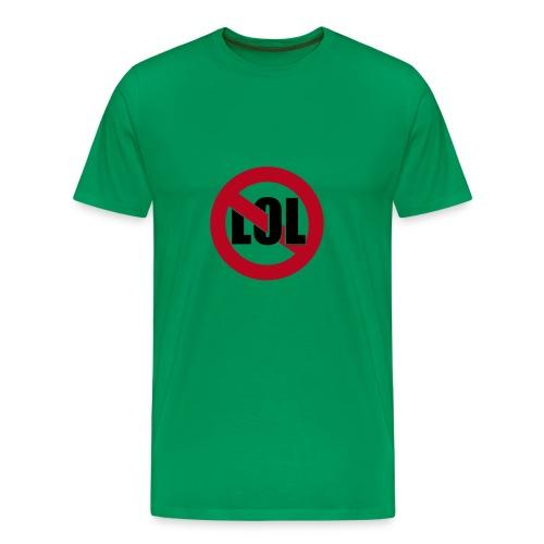 noLOL green - Männer Premium T-Shirt