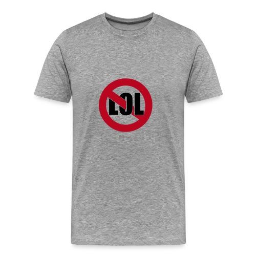noLOL grey - Männer Premium T-Shirt