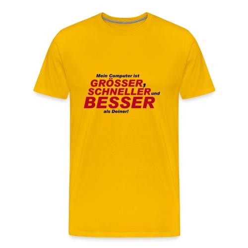 besser - Männer Premium T-Shirt