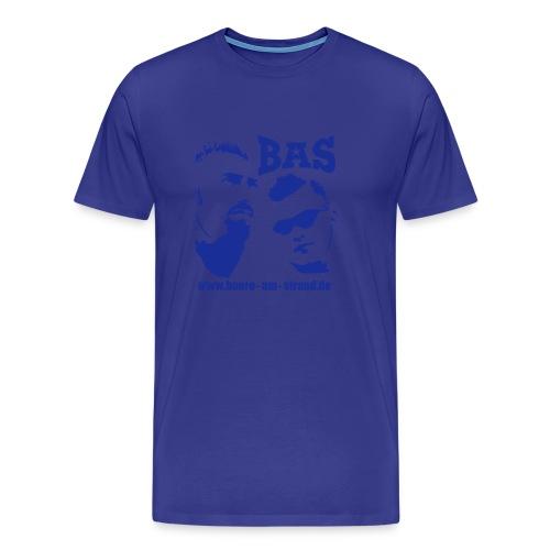BaS Motiv Shirt blau - Männer Premium T-Shirt