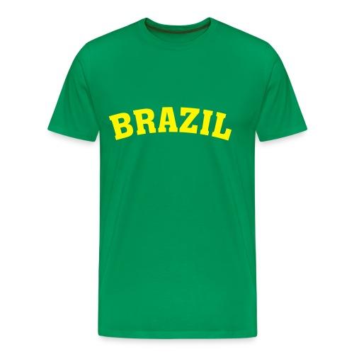 Brazilia - Männer Premium T-Shirt