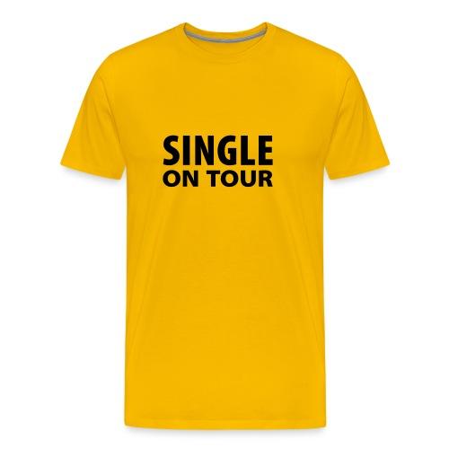 Single on Tour - Männer Premium T-Shirt