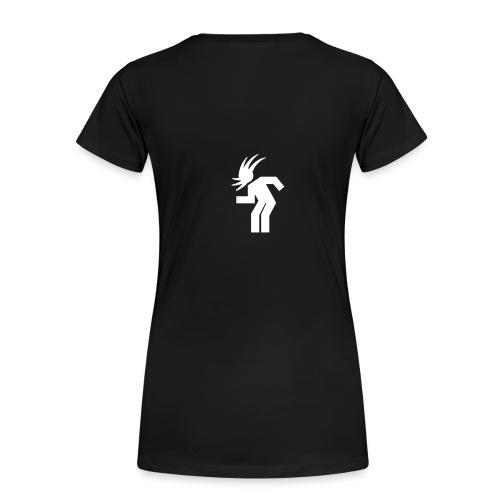 Frauen Premium T-Shirt - girlie-schlicht / ohne namen