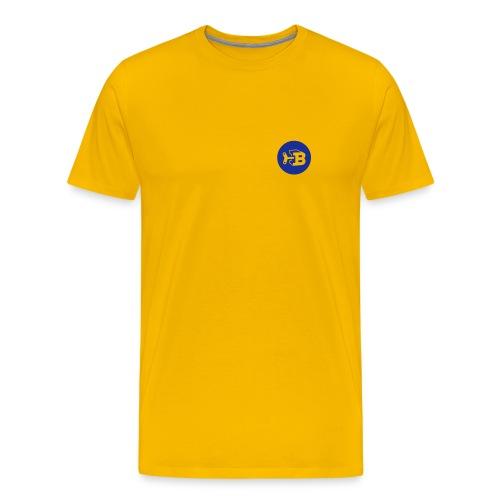 Biller Shirt Gelb/Blau - Männer Premium T-Shirt