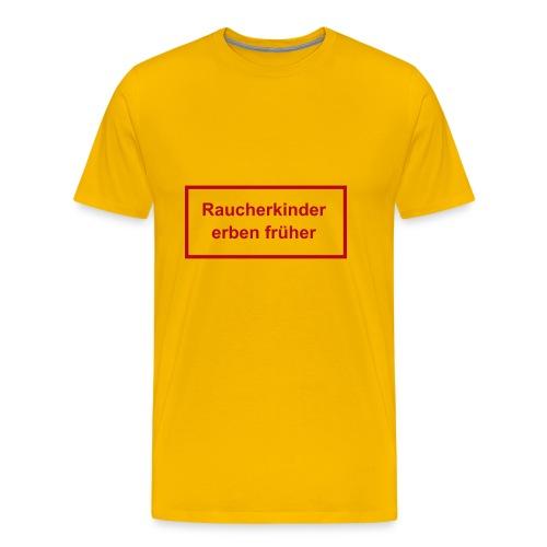 Raucherkinder - Männer Premium T-Shirt
