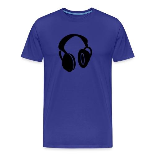Kopfhörer 2 - Männer Premium T-Shirt
