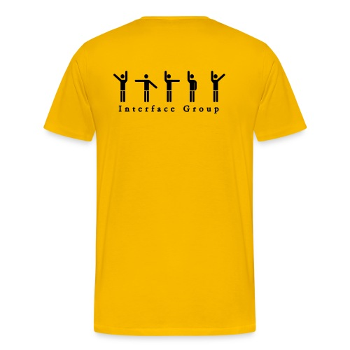 Digital Shirt 2 (Yellow) - Männer Premium T-Shirt