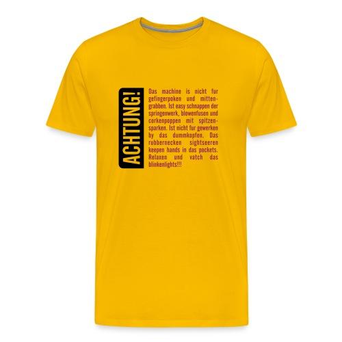 Stedman Comfort - Männer Premium T-Shirt