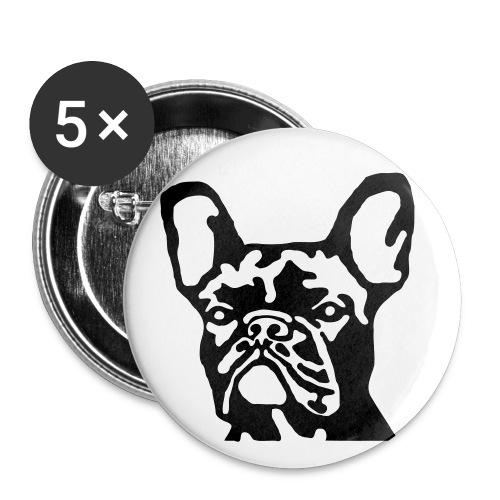 Bullyface Anstecker - Buttons groß 56 mm (5er Pack)