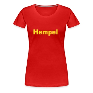 Hempel unterm Sofa,Titel - Polo for Girls, figurnah - Frauen Premium T-Shirt
