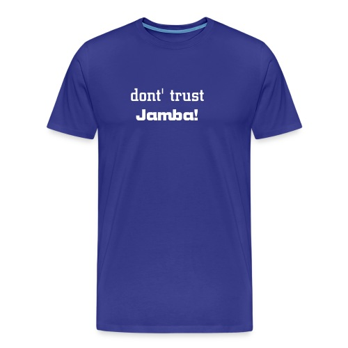 Anti Jamba No.1 - Männer Premium T-Shirt