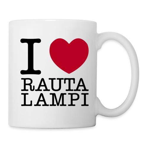 I love Rautalampi - kahvikuppi - Muki