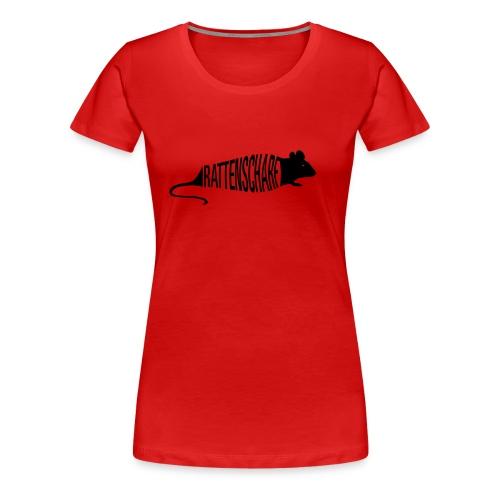 Rattenscharf - Frauen Premium T-Shirt