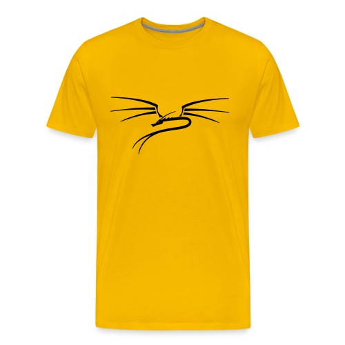 yellow Wyrm T-shirt 2 - Men's Premium T-Shirt