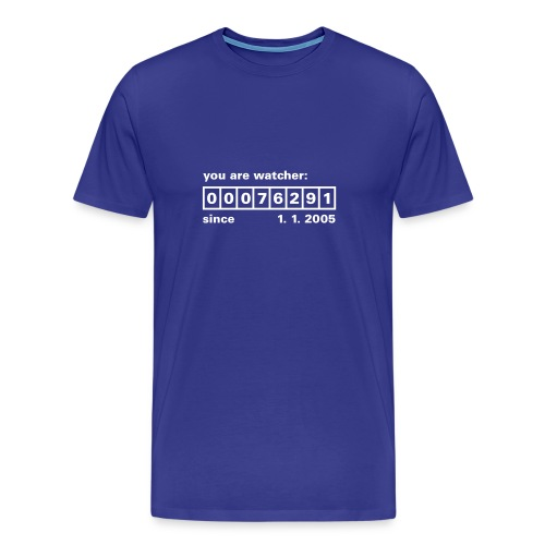 you_are_watcher - Männer Premium T-Shirt