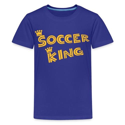 Soccer King Kids - Teenager Premium T-Shirt