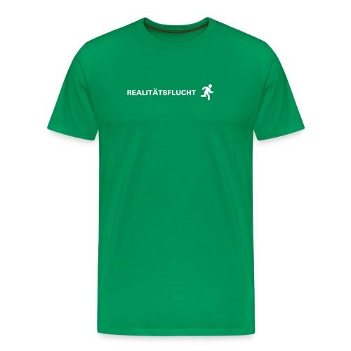 Realitätsflucht - Männer Premium T-Shirt