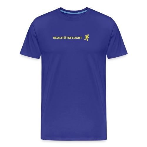 Real/aqua - Männer Premium T-Shirt