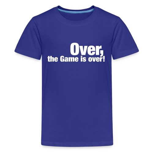 Over Kids T-Shirt - Teenage Premium T-Shirt