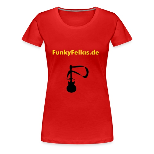 FunkyFellas.de Classic Girlie Shirt red - Frauen Premium T-Shirt