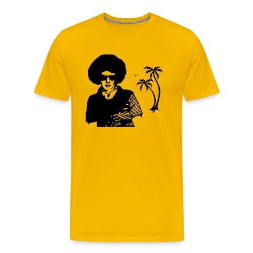 Sommer T-Shirt Gelb - Männer Premium T-Shirt