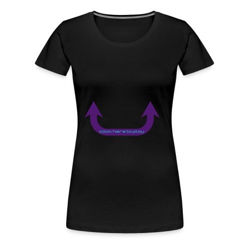 Comedy Ladies T-shirt - Women's Premium T-Shirt