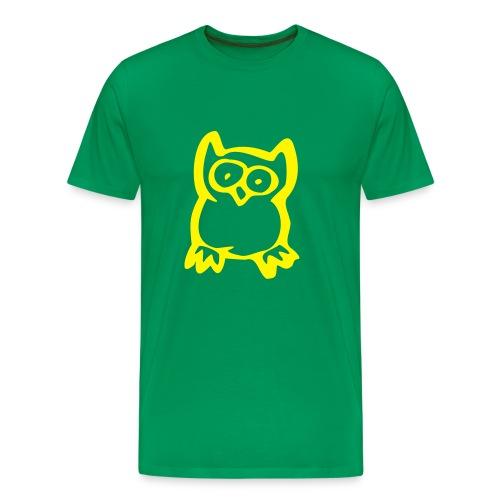 camiseta buho - Camiseta premium hombre