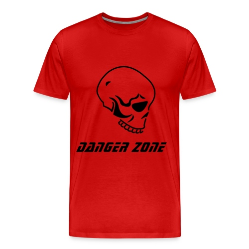 Danger Skull - Men's Premium T-Shirt