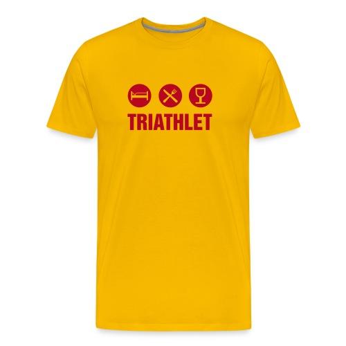 Sport & Freizeit: Triathlet - Männer Premium T-Shirt