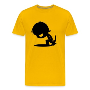 T-shirt Comic Chieur. - T-shirt Premium Homme