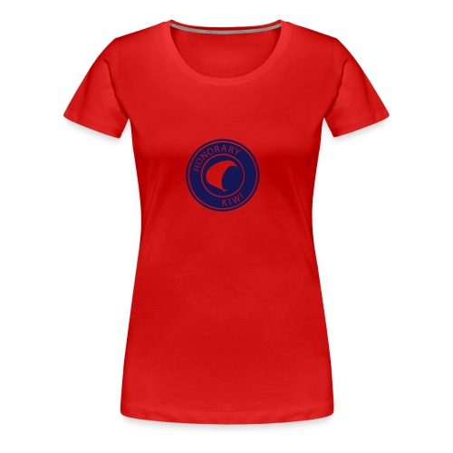 Honorary Kiwi Womens T-shirt - Women's Premium T-Shirt