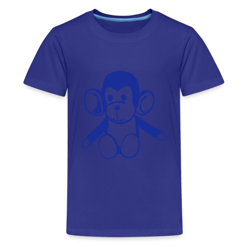 Kinder T-Shirt Äffchen - Teenager Premium T-Shirt