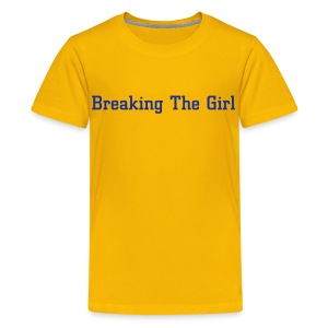 BTG Yellow Kids top 2 - Teenage Premium T-Shirt
