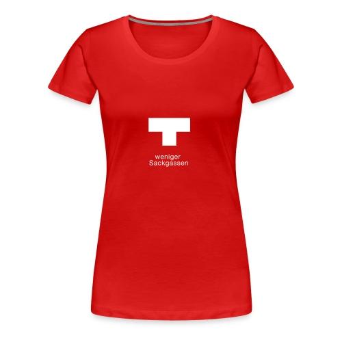 Sackgasse - Frauen Premium T-Shirt