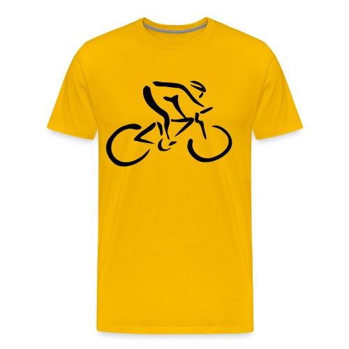 Gelbes Trikot - Männer Premium T-Shirt