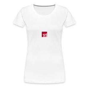 Musikschul T-Shirt (weiß) - Frauen Premium T-Shirt