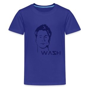 Wash - Learning Quote (kids) - Teenage Premium T-Shirt