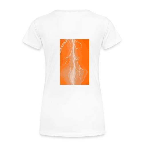 Bright Spark Orange - Women's Premium T-Shirt