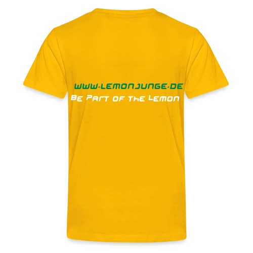 LemonBoy (Kinder-Shirt) - Teenager Premium T-Shirt