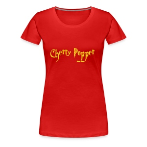 Cherry Popper women's fitted tee - Women's Premium T-Shirt
