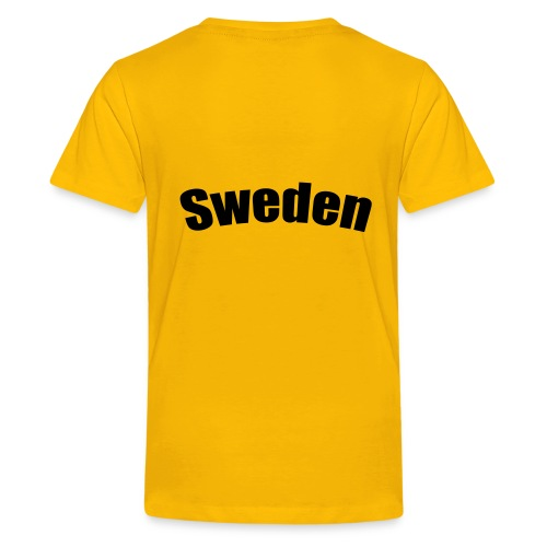 Barn T-Shirt - If I am lost (SWEDEN) - Premium-T-shirt tonåring