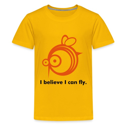 I believe I can fly. - Teenage Premium T-Shirt
