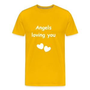 Angels loving you - Männer Premium T-Shirt