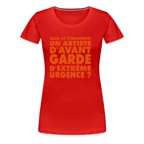 Urgence (OR) - T-shirt Premium Femme